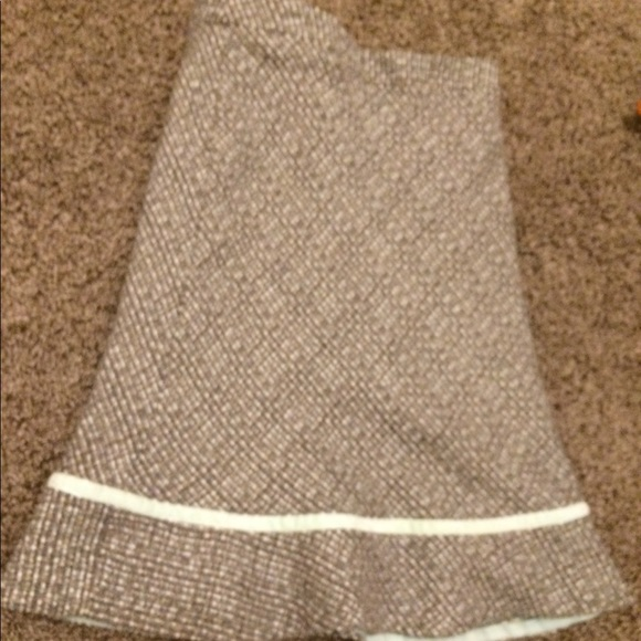 GAP Dresses & Skirts - Mint and brown tweed skirt